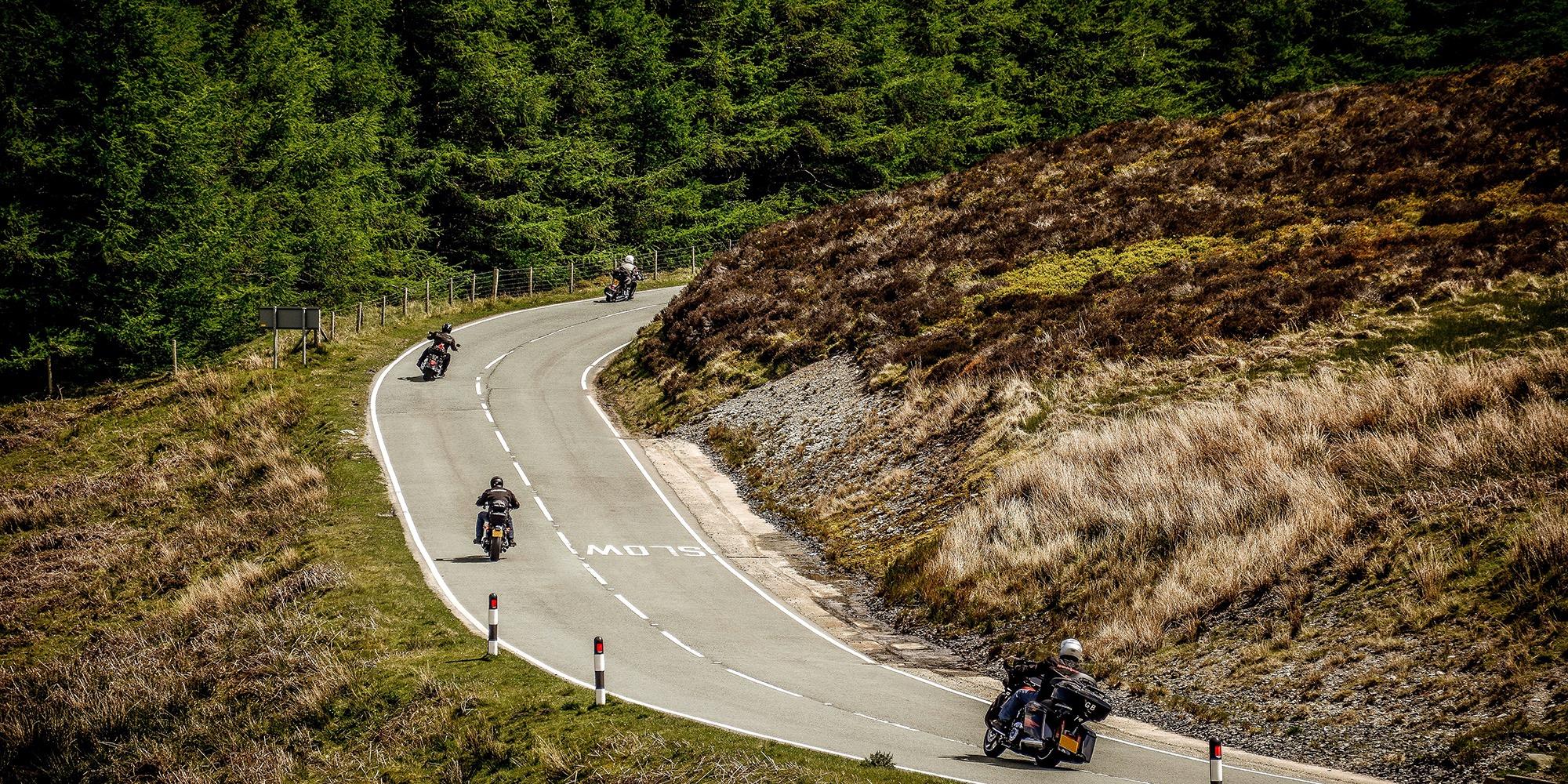 Touring-motorcycle