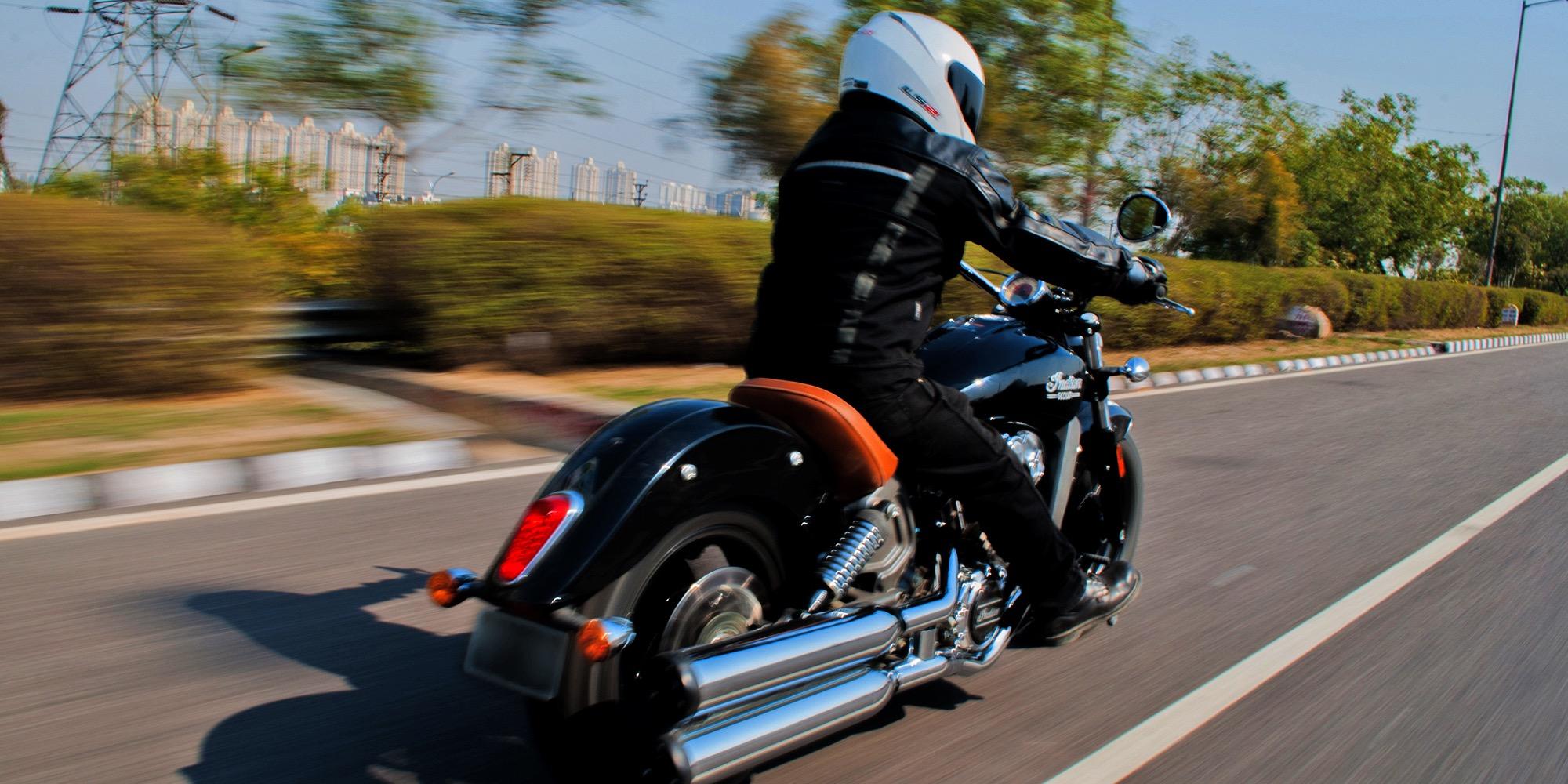 Indian bike rider